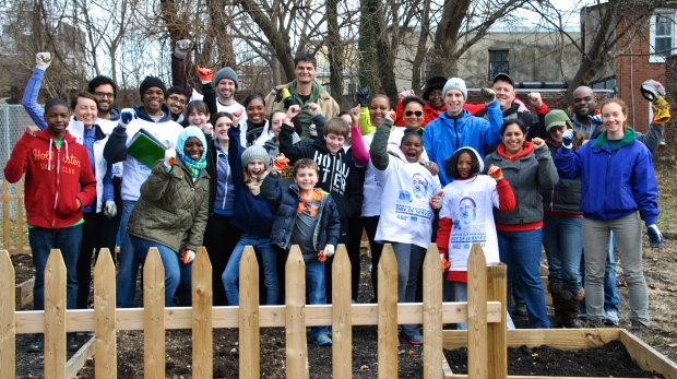 Vanguard Volunteers on MLK Day 2014